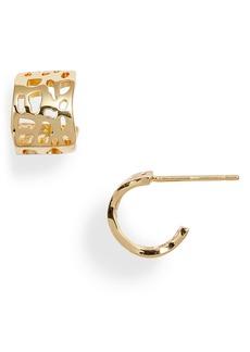 gorjana Gia Huggie Hoop Earrings