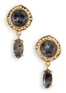 gorjana Gia Stone Drop Earrings