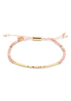 Gorjana Gold-Tone Stone Beaded Bracelet