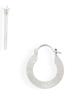 gorjana Jax Profile Hoop Earrings