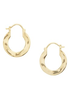 gorjana Jax Profile Hoop Earrings