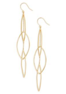 gorjana Kellen Interlocking Drop Earrings