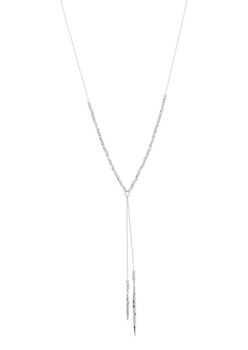 gorjana Laguna Adjustable Lariat Necklace