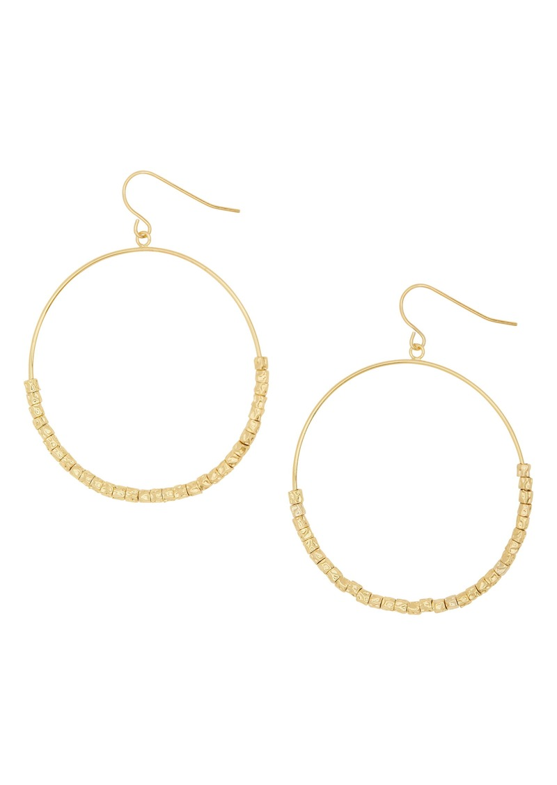 gorjana Laguna Drop Hoops