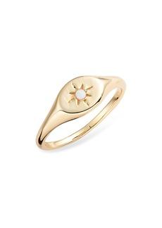 gorjana Luna Signet Ring