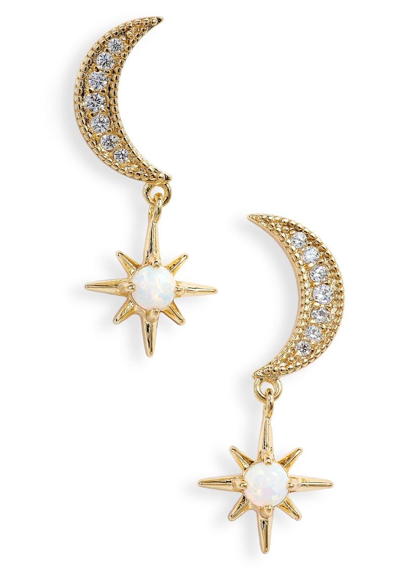 gorjana Luna Stud Earrings