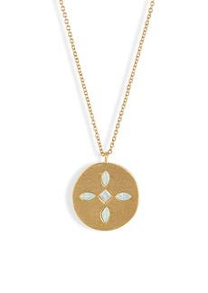 gorjana Maya Medallion Pendant Necklace
