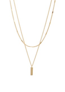 gorjana Montecito Bar Layered Necklace