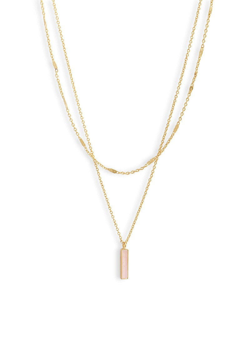 gorjana Montecito Bar Layered Necklace
