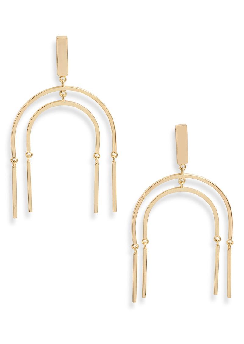 gorjana Montecito Bar Mobile Earrings