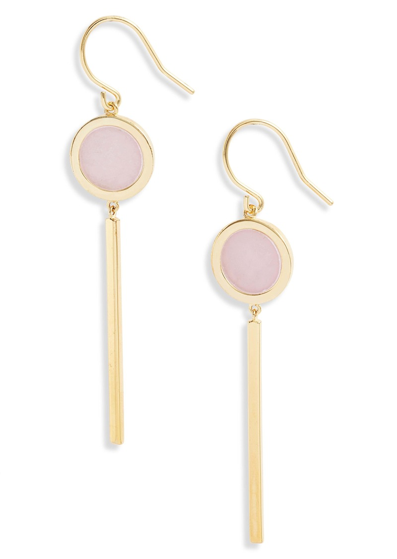 gorjana Montecito Disc Drop Earrings