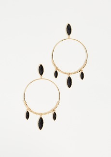 Gorjana Palisades Drop Hoop Earrings
