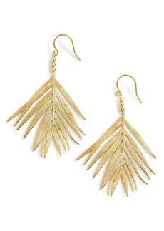 gorjana Palm Drop Earrings