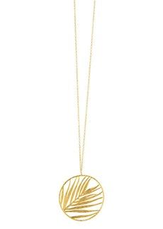 "Gorjana Palm Pendant Slider Necklace, 34"""