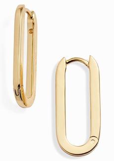 gorjana Parker Huggie Link Earrings