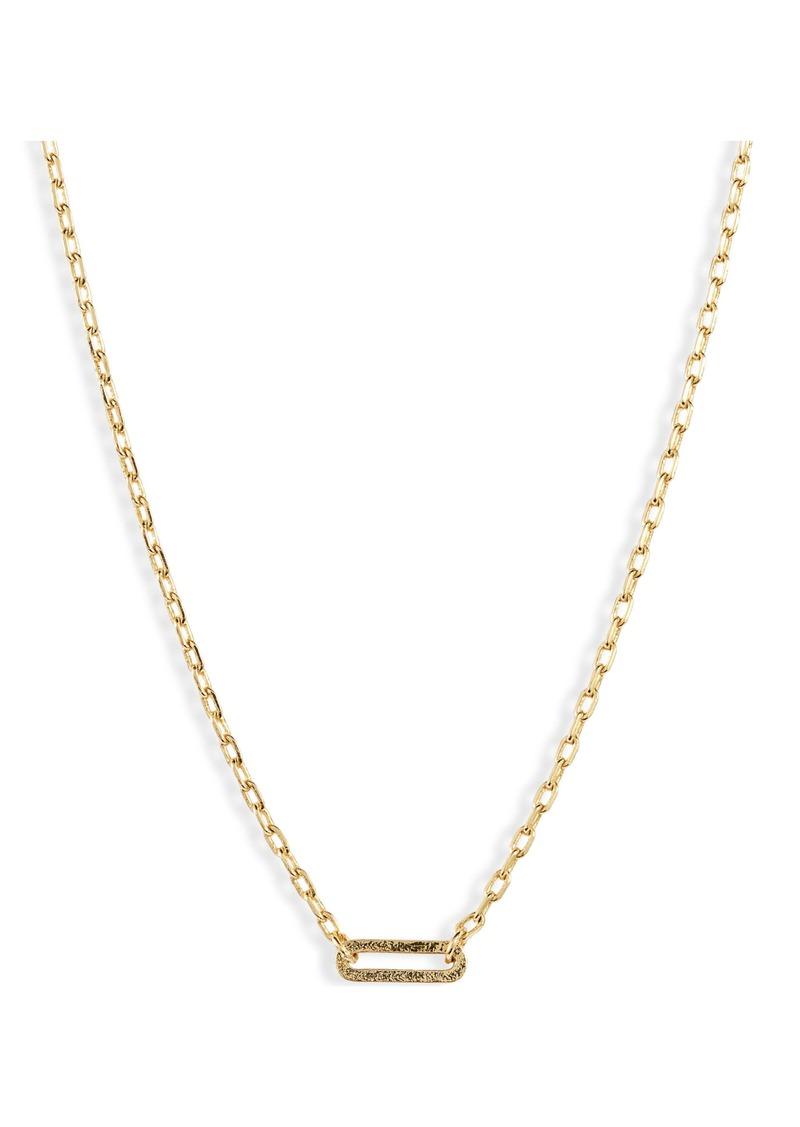 gorjana Parker Link Charm Necklace