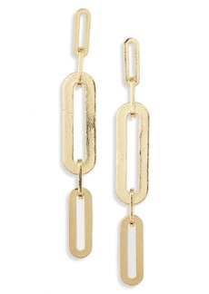 gorjana Parker Link Linear Drop Earrings