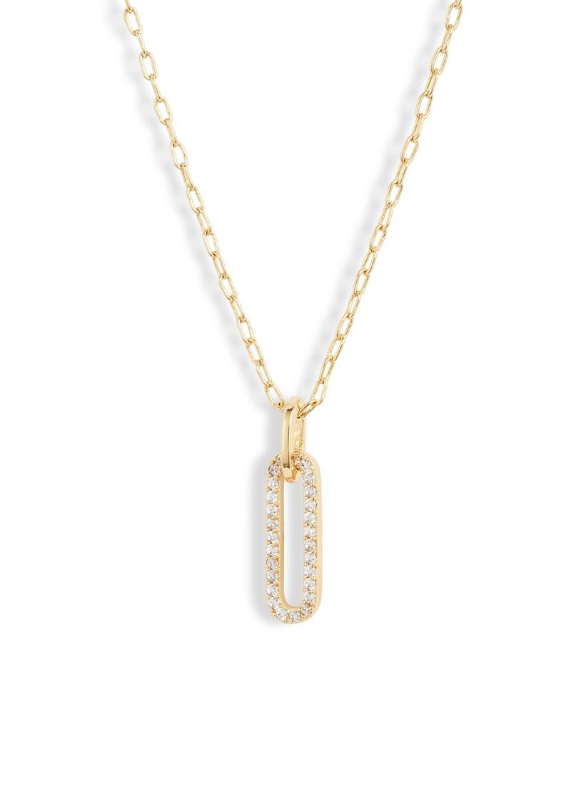 gorjana Parker Shimmer Pendant Necklace