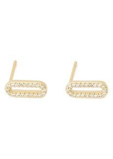 gorjana Parker Shimmer Stud Earrings