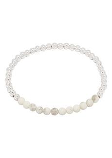 gorjana Power Gemstone Aura Howlite Stretch Bracelet