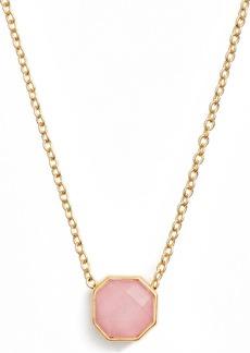 gorjana Power Gemstone Charm Adjustable Necklace