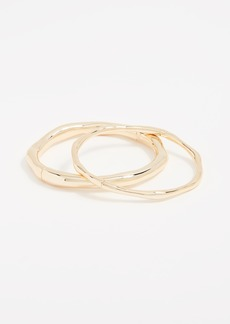 Gorjana Quinn Hinged Bangle Bracelet Set