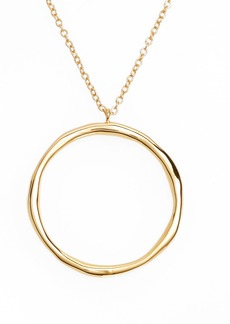 gorjana Quinn Hoop Necklace