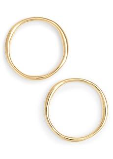gorjana Quinn Large Hoop Earrings