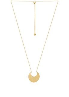 gorjana Rae Pendant Adjustable Necklace