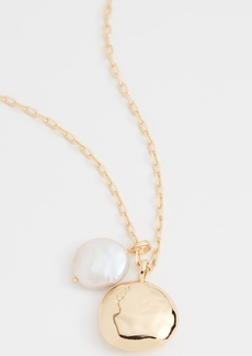 Gorjana Reese Pearl Pendant Necklace
