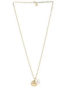 gorjana Reese White Pearl Pendant Necklace