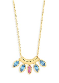 gorjana Rumi Burst Pendant Necklace