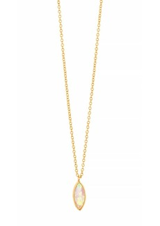 "Gorjana Rumi Pendant Adjustable Necklace, 18"""