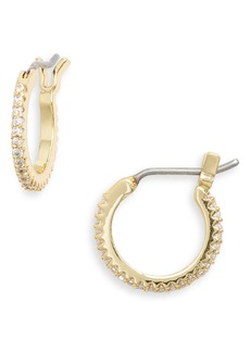 gorjana Shimmer Huggie Hoop Earrings