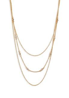 gorjana Shimmer Layered Necklace