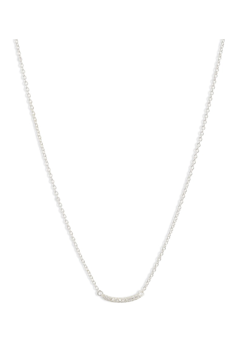 gorjana Shimmer Mini Bar Necklace