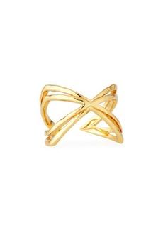 gorjana Skyler Crisscross Cuff Ring