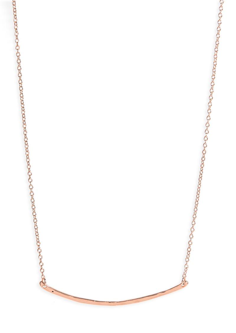 gorjana Taner Bar Small Necklace