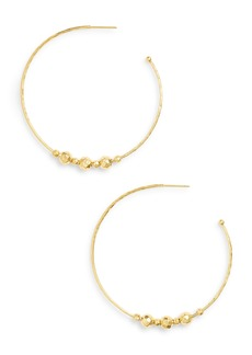 gorjana Taner Bead Hoop Earrings