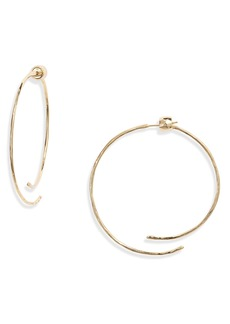 gorjana Taner Coil Hoop Earrings