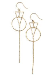 gorjana Triangle Drop Earrings