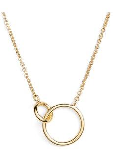 gorjana Wilshire Connected Loop Necklace