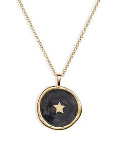 Gorjana Star Coin Pendant Necklace