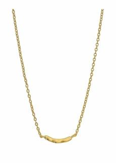 Gorjana Taner Bar Mini Bar Necklace