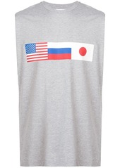 Gosha flag print T-shirt
