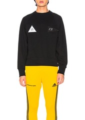 Gosha Rubchinskiy Velcro Detail Sweatshirt