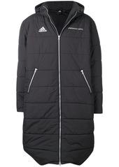 Gosha Rubchinskiy x Adidas padded hooded maxi coat