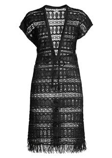 Gottex Crochet Cover-Up Dress