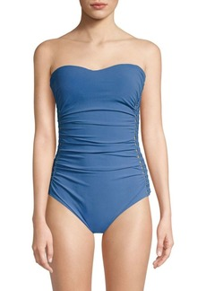 Gottex Crochet Side One-Piece