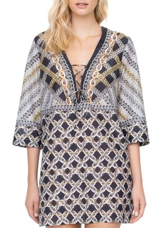 Gottex Chains of Gold Swim Cover-Up